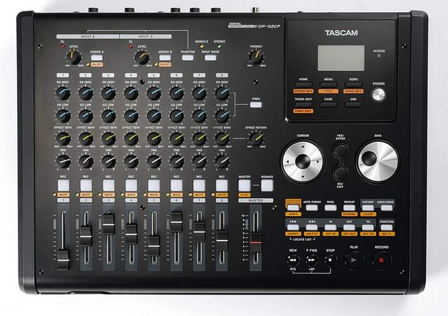 Tascam's latest Portastudio.