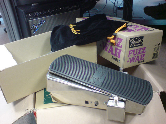 Fender Fuzz Wah: out of the box and ready to rock!