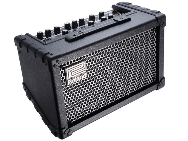 In the park, in your bedroom, on the street, a cool portable amp from Roland