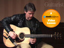 Brad Davis teaches bluegrass guitar