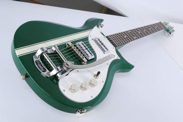 The TV Jones Power'Tron  pickups make this guitar stand out from the crowd