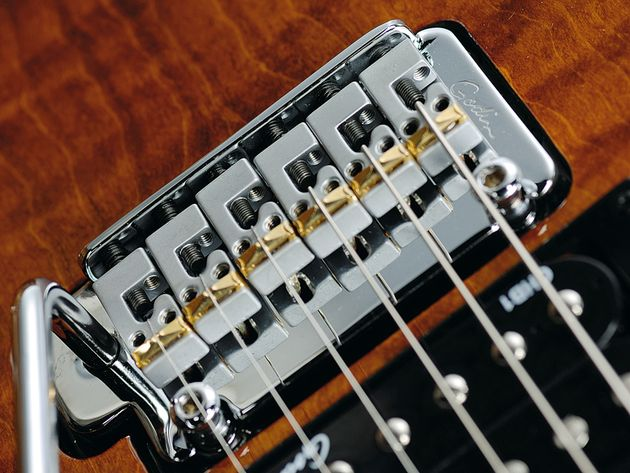The xtSA has RMC bridge transducers enabling the guitar to provide acoustic sounds