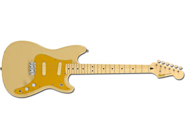 Fifty years on and the Duo-Sonic reappears as part of Fender's entry-level Squier line