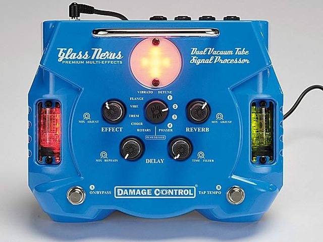 The Glass Nexus offers reverb and delay effects as well as modulation