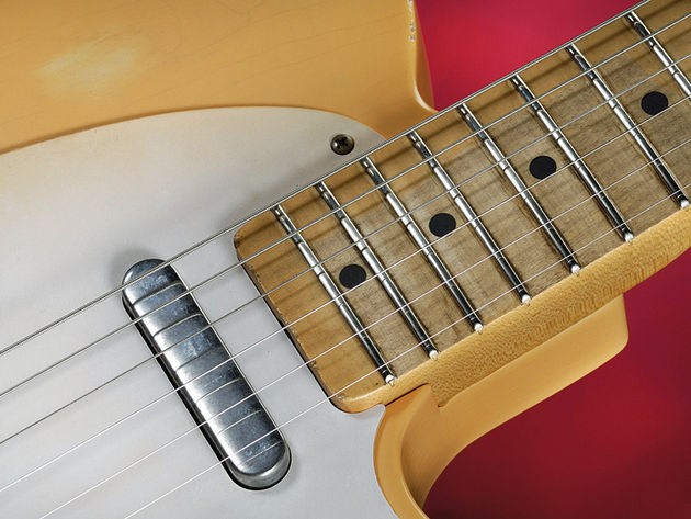 The whole range uses Fender's Tex-Mex pickups
