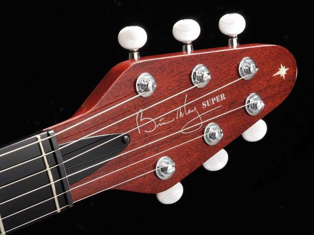 Gotoh locking tuners keep things stable
