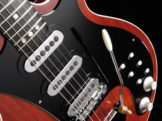 Modified Trisonic pickups and switching options will help you chase down that May tone