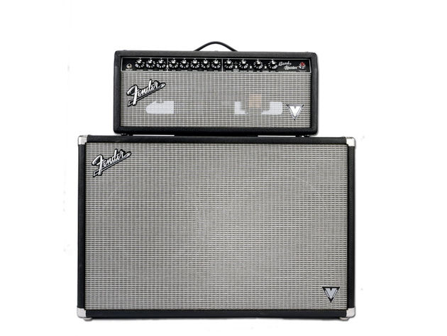 The Bandmaster VM head and cabinet invokes the spirit of classic 60s Fender amps
