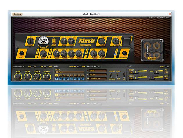 Plug-ins: Easier to transport than 8x10 speaker cabinets