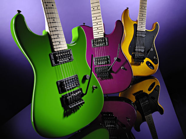 Charvel's USA Production Model Series