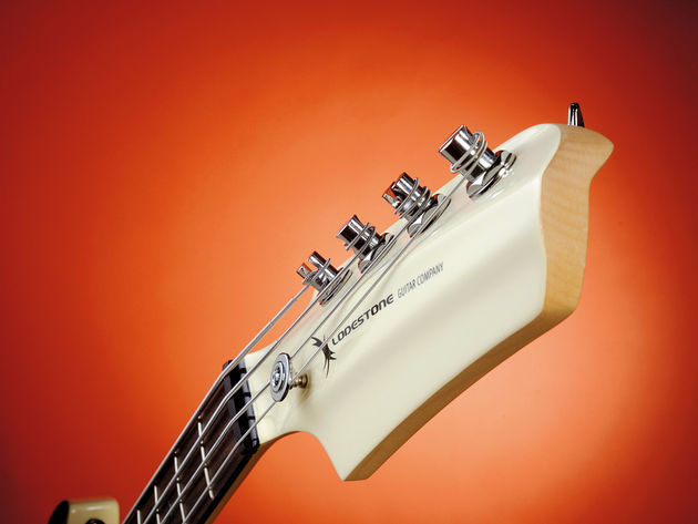 Extra headstock mass, but no balance issues