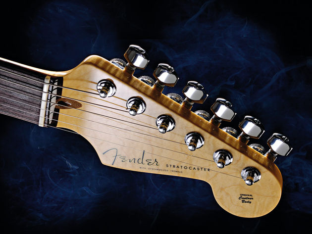Amongst the modern enhancements is a set of Schaller locking tuners
