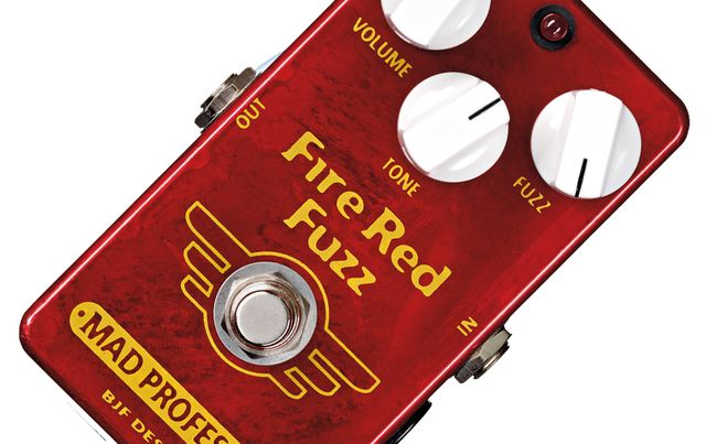 Simple controls make this fuzz box easy to navigate.