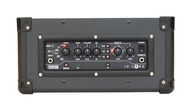 ID:Core 20 Stereo control panel