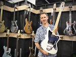 NAMM 2014: Wire Instruments, Travis Bean and Electrical Guitar Company stand in pictures