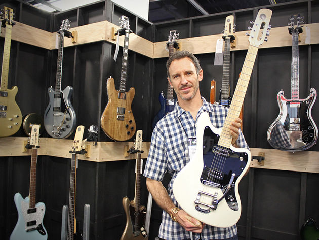 Wire Instruments, Travis Bean and Electrical Guitar Company stand in pictures