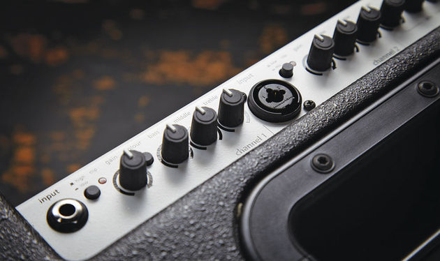 Channel one is the Compact 60's high-impedance input for most guitar pickups