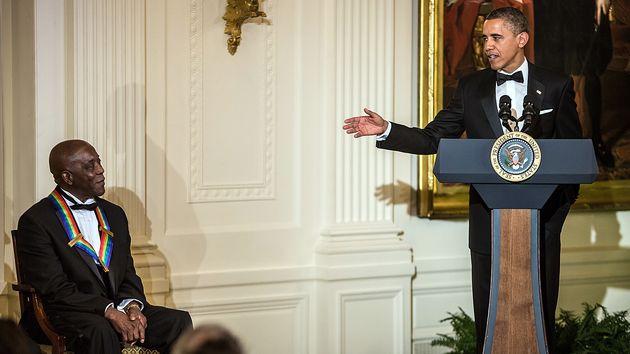 Tapis rouge devant la Maison Blanche