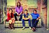Christina Schroeter, Joseph Keefe, Sebastian Keefe et James Buckley forment la famille de l'année