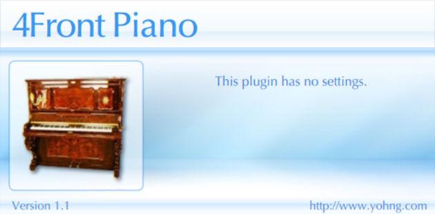 4Front Piano - Gratuit