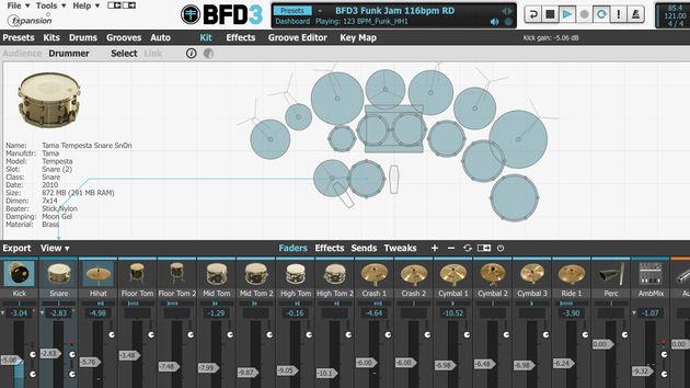 Plus besoin de batteur, BFD3 sera plus carré que lui !