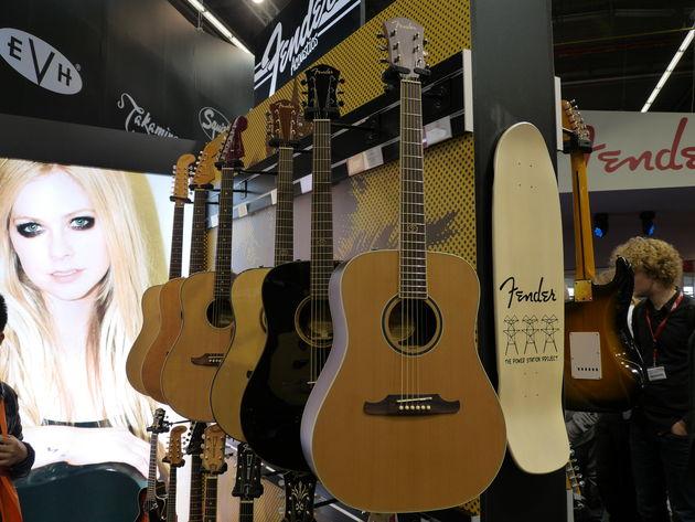 Les nouvelles acoustiques Fender