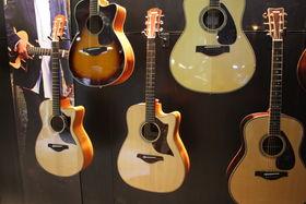 NAMM 2014 : Yamaha présente ses nouvelles acoustiques