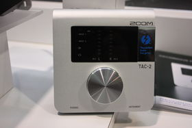 NAMM 2014 : l'interface Thunderbolt TAC-2 de Zoom