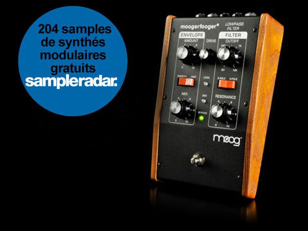 204 samples de synthés modulaires gratuits