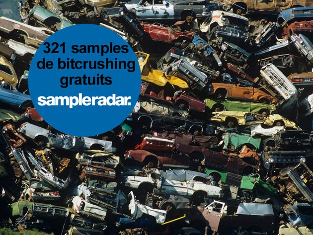SampleRadar : 321 samples de bitcrushing gratuits