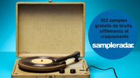 502 samples gratuits de bruits, sifflements et craquements