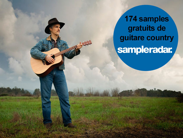 174 samples gratuits de guitare country