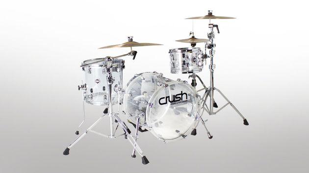 Avec les cymbales...