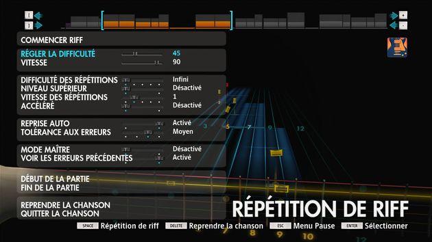 La répétition de riff