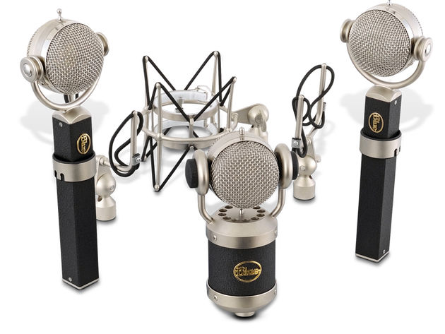 The mics that make up the kit are sourced from Blue's signature series.