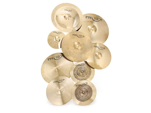 Impression Rock & Jazz Series Cymbals