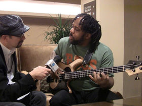NAMM 2011 VIDEO: bass extraordinaire Victor Wooten interviewed