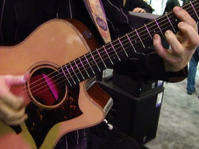 NAMM 2011 VIDEO: Yamaha A-Series electro-acoustic demoed