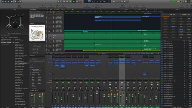 Logic Pro X has a prettier, slicker and more approachable interface than its predecessor.
