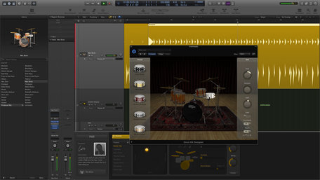 Logic pro x drum kit designer