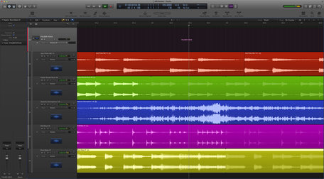 Apple logic pro folder stack