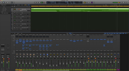 Apple logic pro x summing stack