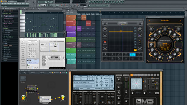 FL Studio still has a unique look and feel.