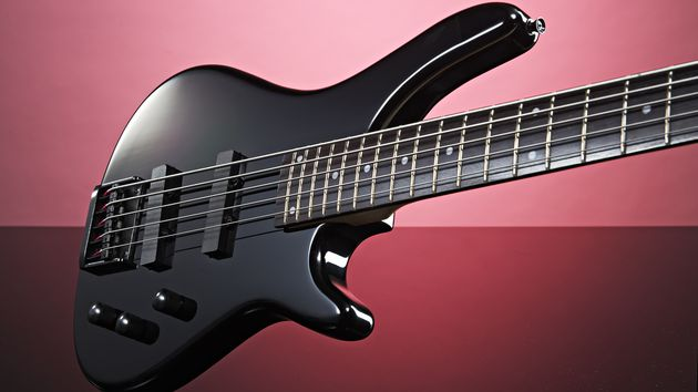 Gear4Music Electric PGB-105 Five-String Bass Guitar