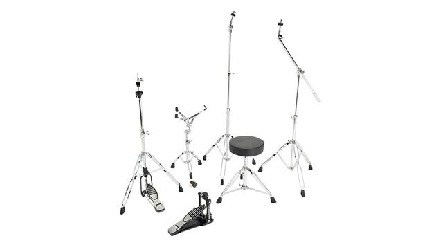 The Gear4Music stands will sit firmly on a stage floor and both pedals operate smoothly and efficiently.