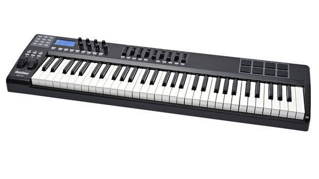 The SubZero SPC61 is, as its name suggests, a 61-key, five-octave controller keyboard.