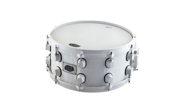 "Gear4Music WHD 14""x6.5"" Steel Snare And Gigbag"