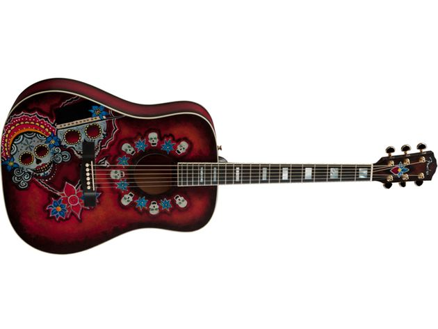 "Joe Wood ""Dia De Los Muertos"" Dreadnought"