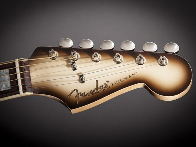 "Pro Custom Kingman ""C"" Antigua Burst"