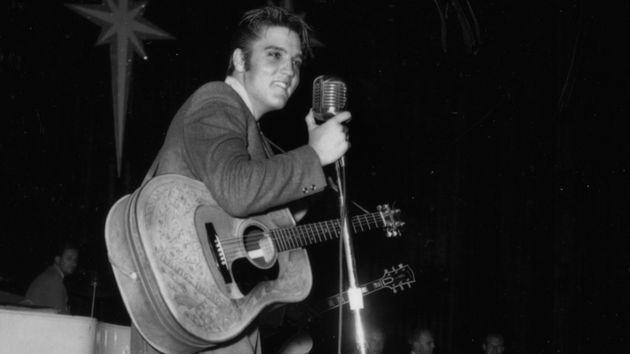 Elvis led the way in making the acoustic guitar rock